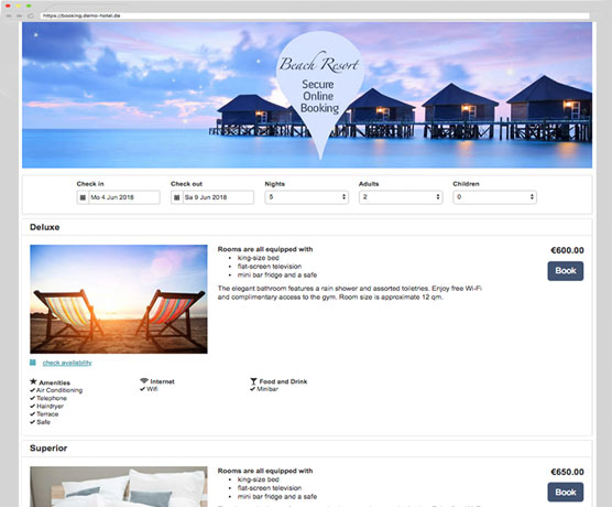 Online Booking System & Channel Manager